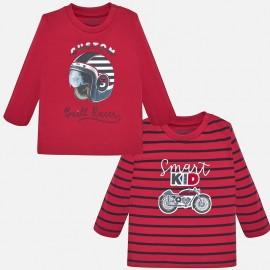 Sada 2 košile s dlouhými rukávy pro chlapce Mayoral 2018-48