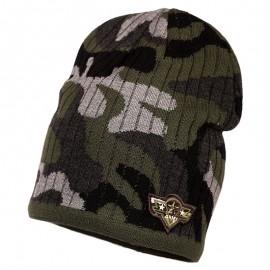 Jamiks HANS chlapecký khaki klobouk camo