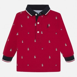 Tričko polokošile s dlouhým rukávem s potiskem Mayoral 2106-11