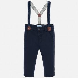 Kalhoty chinos se šlemi chlapci Mayoral 2532-80