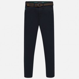 Spodnie eleganckie z pasekiem chłopięce Mayoral 7513-26