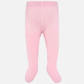 Punčocháče teplá bavlna pro dívku Mayoral 10628-34 Růžová