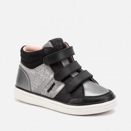 Buty sportowe sneakersy przejściowe dla dziewczynki Mayoral 46047-21 Czarny