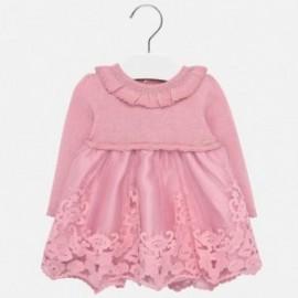 Pletené šaty pro tyle Mayoral 2909-88 růžový