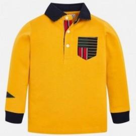 Polokošile s dlouhým rukávem Mayoral 4112-93 žlutý