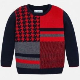 Elegantní svetr pro chlapce Mayoral 4309-80 Granát