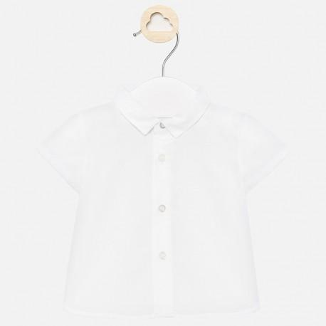 Elegantní tričko pro chlapce Mayoral 1141-38 bílá