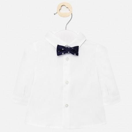 Elegantní košile s motýlkem pro chlapce Mayoral 1142-32 Bílá