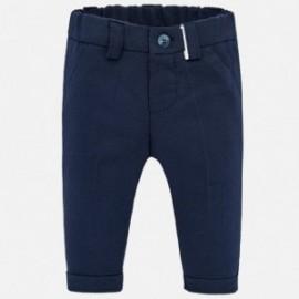 Klasické dlouhé kalhoty pro chlapce Mayoral 1540-28 granát
