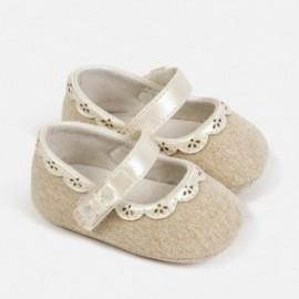 Prolamované boty pro dívku Mayoral 9283-24 Len