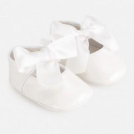 Elegantní boty pro dívky Mayoral 9284-33 bílá