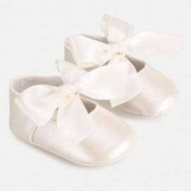 Elegantní boty pro dívku Mayoral 9284-34 krém