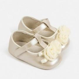 Balerínová obuv pro dívky Mayoral 9285-37 krém