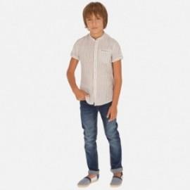 Kalhoty džíny pravidelné fit chlapec Mayoral 56-44 granát