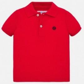 458/5000 Chlapecká polokošile s krátkými rukávy Mayoral 102-58 červená