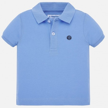Chlapecká polokošile s krátkými rukávy Mayoral 102-59 modrý