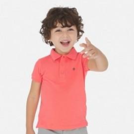 Polokošile s krátkým rukávem pro chlapce Mayoral 150-83 korálový