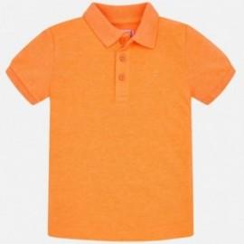 Pánská polokošile s krátkým rukávem Mayoral 150-838 oranžový