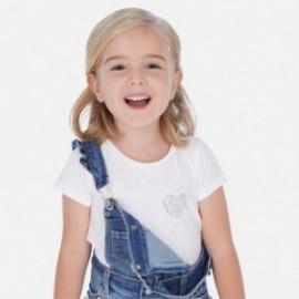 Sportovní košile pro dívku Mayoral 174-87 bílá