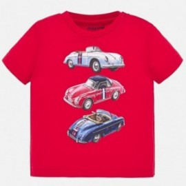 Mayoral 1039-55 sportovní tričko pro chlapce červené