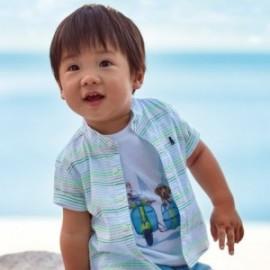 Tričko s krátkým rukávem kluci Mayoral 1043-24 bílý