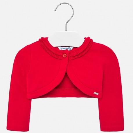 Elegantní svetr pro dívku Mayoral 1468-44 červená