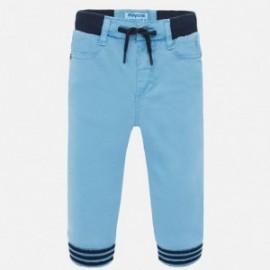 Kalhoty joggers chlapci Mayoral 1546-74 modrý