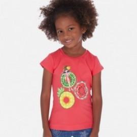Tričko pro dívku Mayoral 3017-35 červená