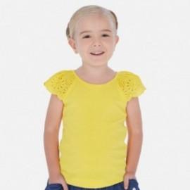 Tričko na popruhy holčičí Mayoral 3023-79 žlutý