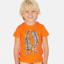 Tričko sportovní chlapci Mayoral 3063-93 oranžový