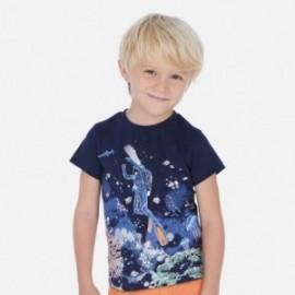 Tričko sportovní chlapec Mayoral 3069-35 granát