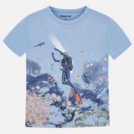 Tričko sportovní chlapec Mayoral 3069-37 modrý
