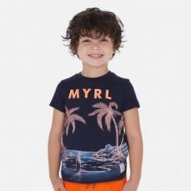 Sada 2 triček pro chlapce Mayoral 3072-91 Granát