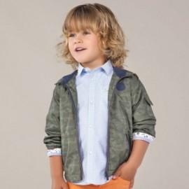 Košile s dlouhým rukávem pro chlapce Mayoral 3177-10 modry