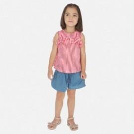 Šortky džíny pro dívku Mayoral 3282-5 modrá