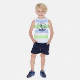 Sada bavlněných 2 košil a šortek pro chlapce Mayoral 3622-74 zelená