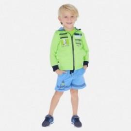 3dílná tepláková souprava chlapecký Mayoral 3812-70 zelená