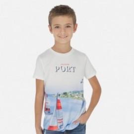 Tričko sportovní chlapec Mayoral 6054-61 bílá