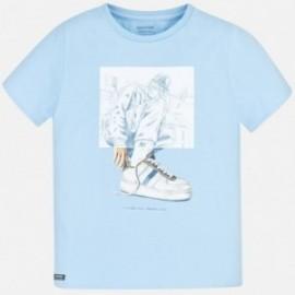 Tričko sportovní chlapec Mayoral 6056-22 modrý
