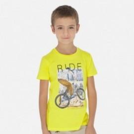 Tričko sportovní chlapec Mayoral 6058-32 žlutý