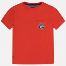 Športové tričko pre chlapca Mayoral 6064-55 červená
