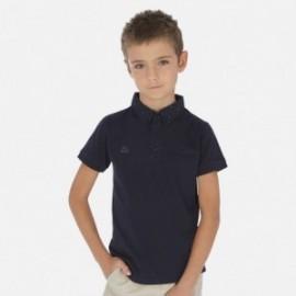tričko pólo pre chlapca Mayoral 6136-77 granát