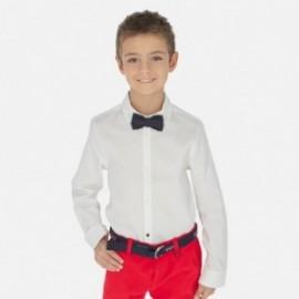 Košile s motýlkem chlapce Mayoral 6154-40 Bílá