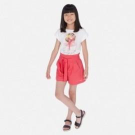Šortky pro dívku Mayoral 6258-48 červená