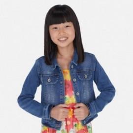 Jeansová bunda pro dívky Mayoral 6461-43 modrý