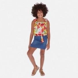 Džínová sukně holčičí Mayoral 6952-62 modrý