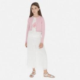 Sukně kalhoty pro dívky Mayoral 6955-31 smetanový