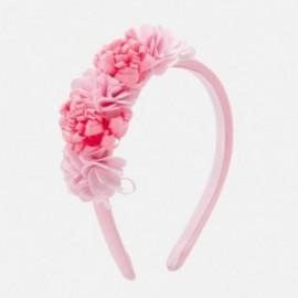 Celenka s květinami pro dívky Mayoral 10755-20 růžový