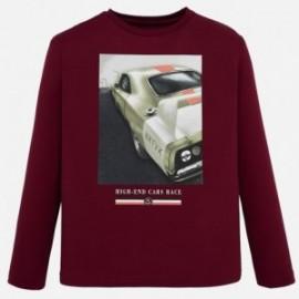 Sportovní košile pro chlapce Mayoral 7041-95 karmínový