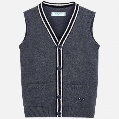 Tričko vesta pro chlapce Mayoral 4320-72 šedá